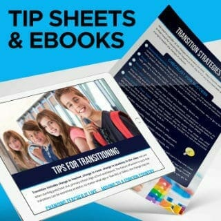 autism spectrum disorder tip sheets and ebooks