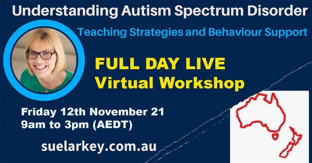 Teaching Children with Autism Strategies workshop